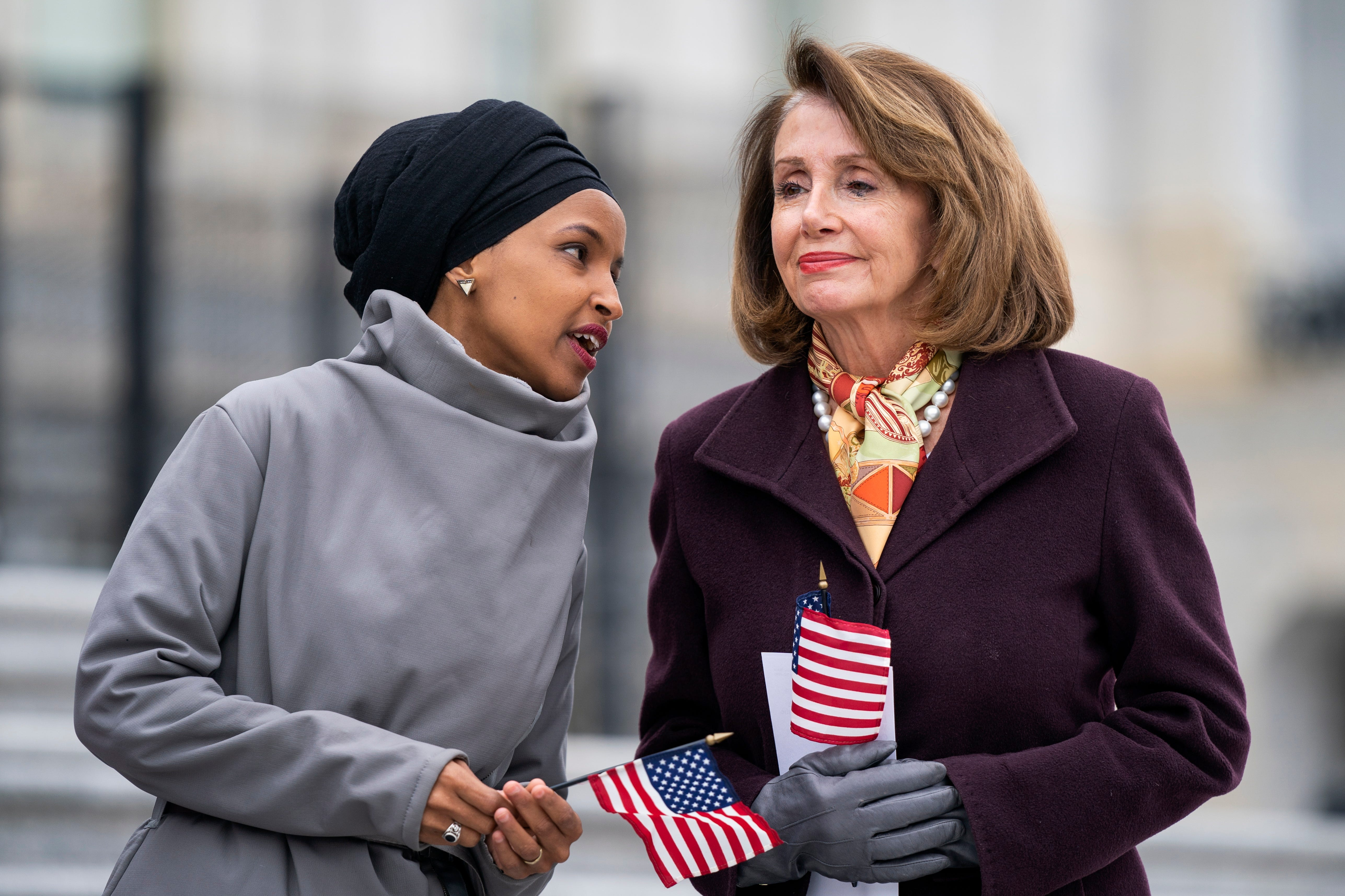 'This is endangering lives': Ilhan Omar claims spike in death threats after Trump tweet