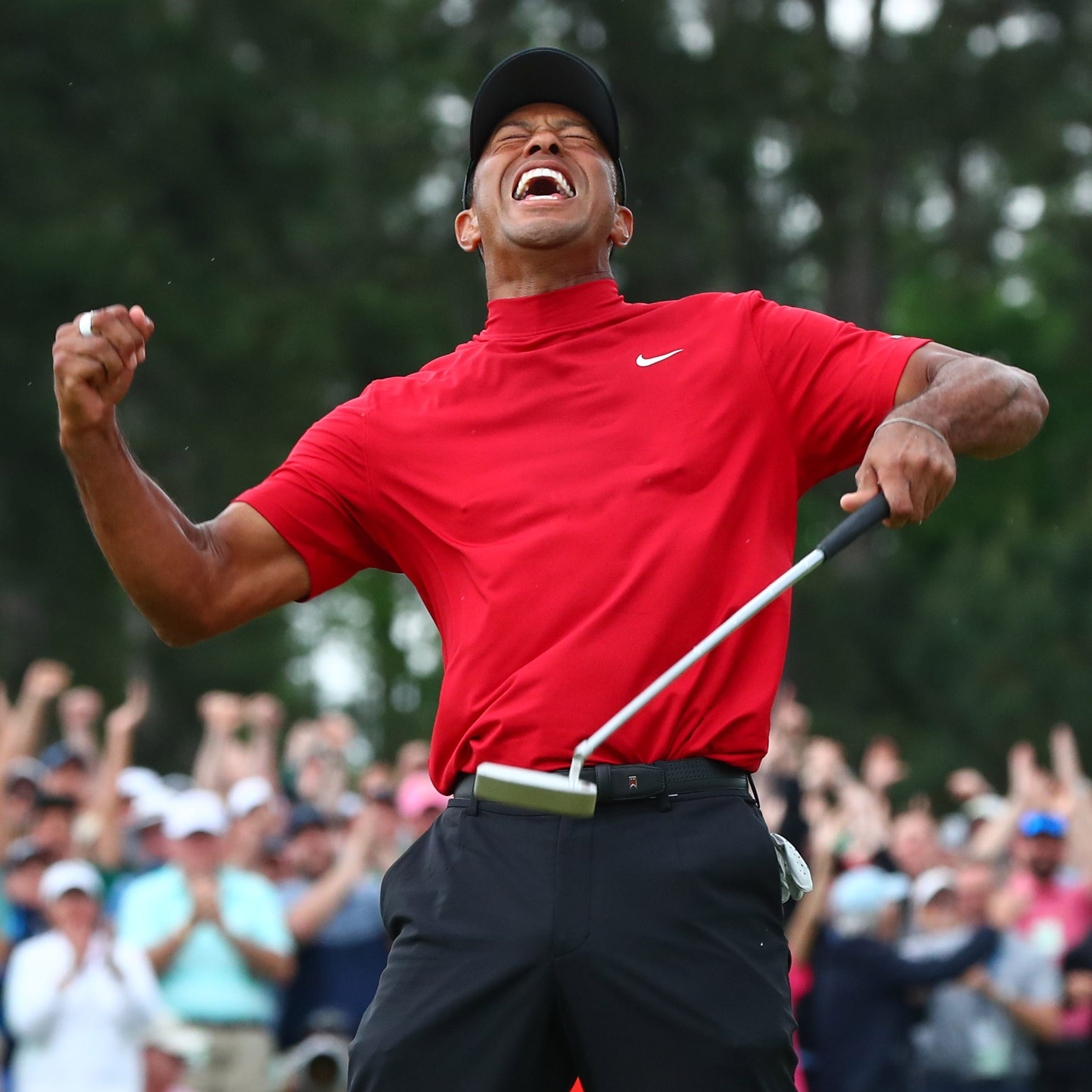 Tiger Woods wins the Masters; CBS coverage masters hyperbole and goo