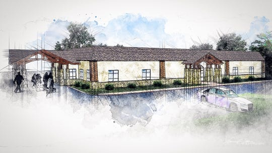 The Standard Cremation & Funeral Center is under construction in Anderson.