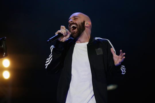 Sam Harris of X Ambassadors performs in Houston in 2017. X Ambassadors have been added to the entertainment lineup for this summer's Outagamie County Fair.