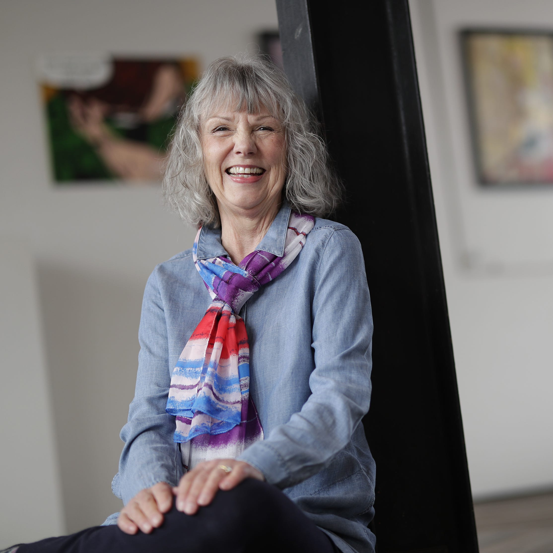 Poet Karla Huston brings 'a sparkling enthusiasm' to arts leadership