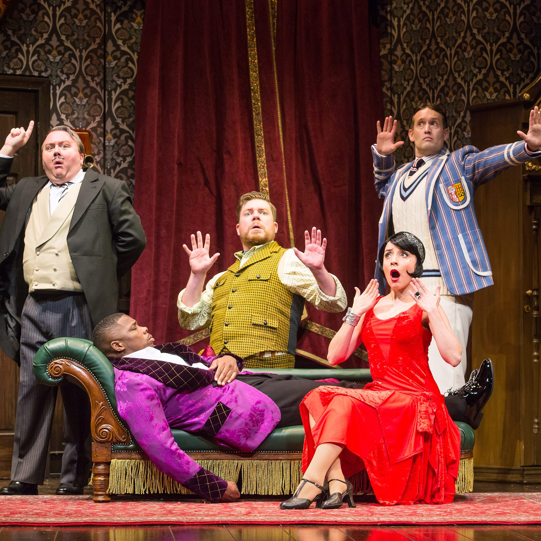 Review: 'The Play That Goes Wrong' wreaks havoc at the Fox Cities PAC