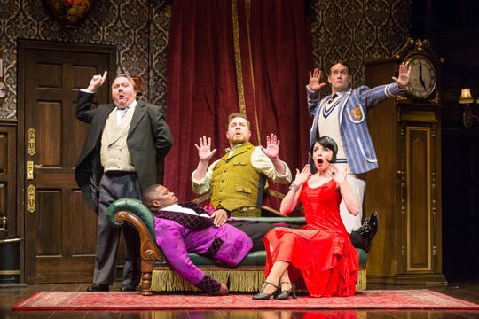 """The Play That Goes Wrong"" runs April 30-May 5 at the Fox Cities Performing Arts Center in downtown Appleton."