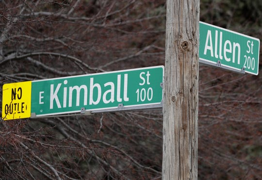 The 100 block of East Kimball Street and Allen Street will be vacated for the U.S. Venture headquarters in downtown Appleton. Historians are working to preserve the street names.