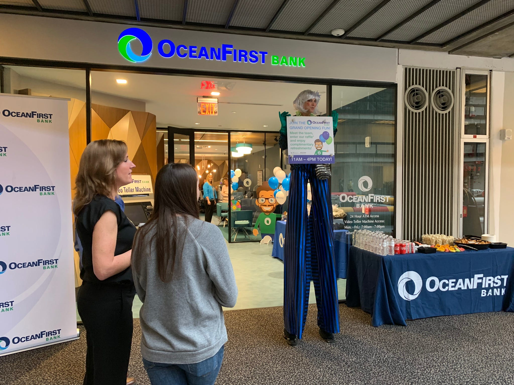 OceanFirst Bank has a new branch at Bell Works in Holmdel.