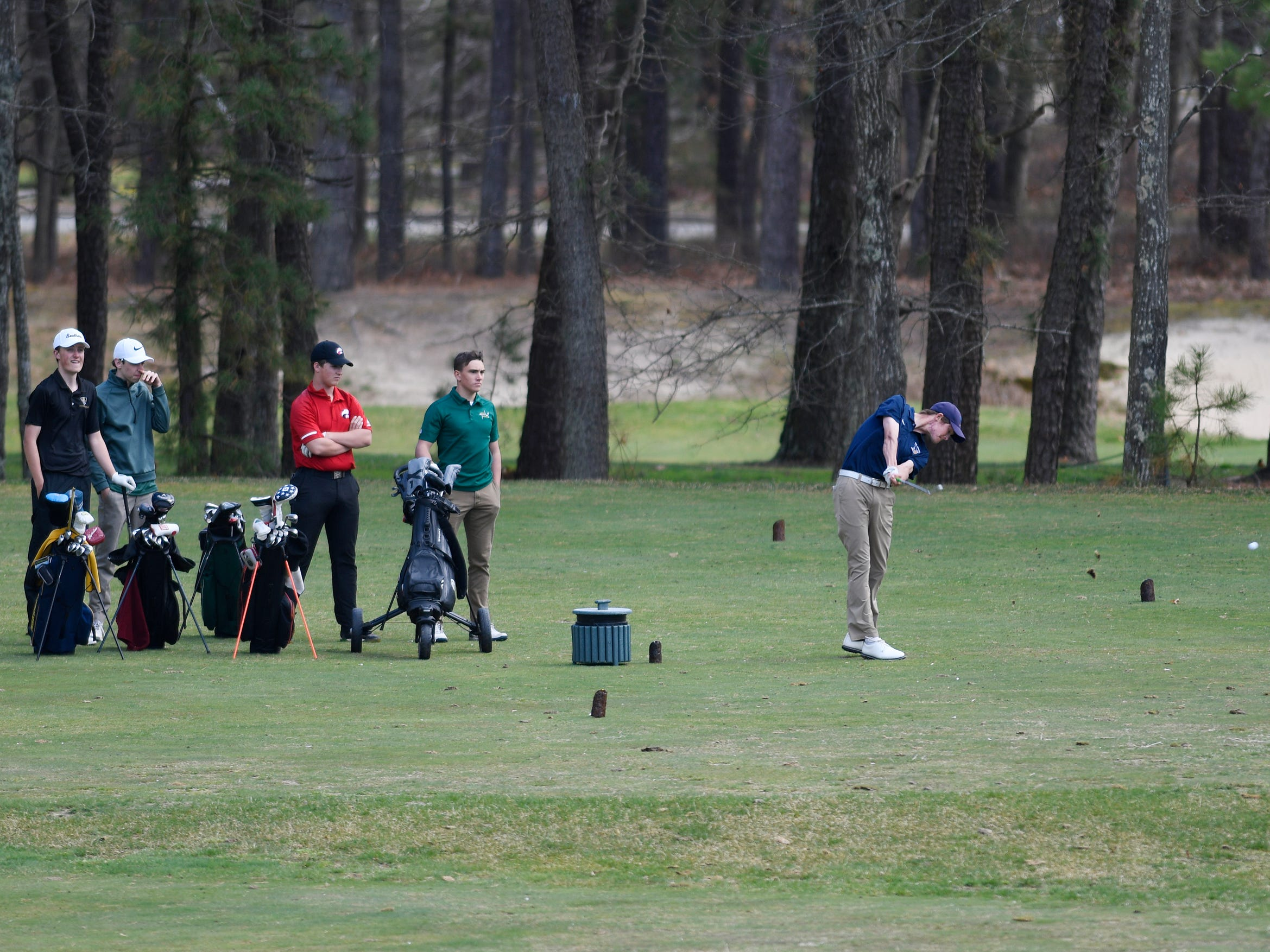 Scenes from the Ocean County Tournament at Sea Oaks Country Club in Little Egg Harbor on Monday, April 15, 2019.