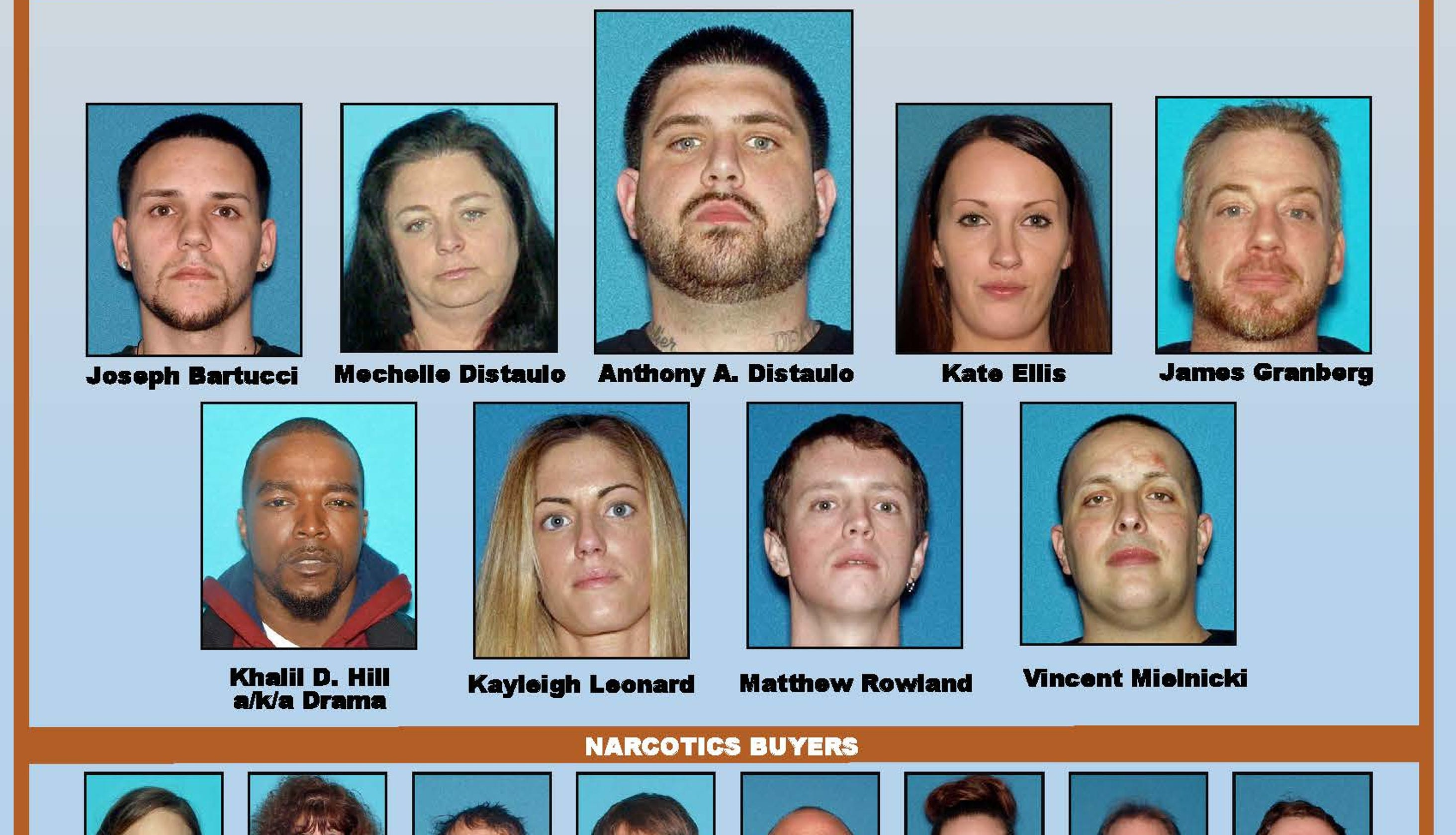32 charged in NJ drug ring that dealt up to $400K in heroin monthly