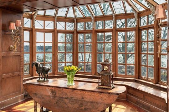 Rumson historic home at 2 Browns Dock Road adorns scenic views