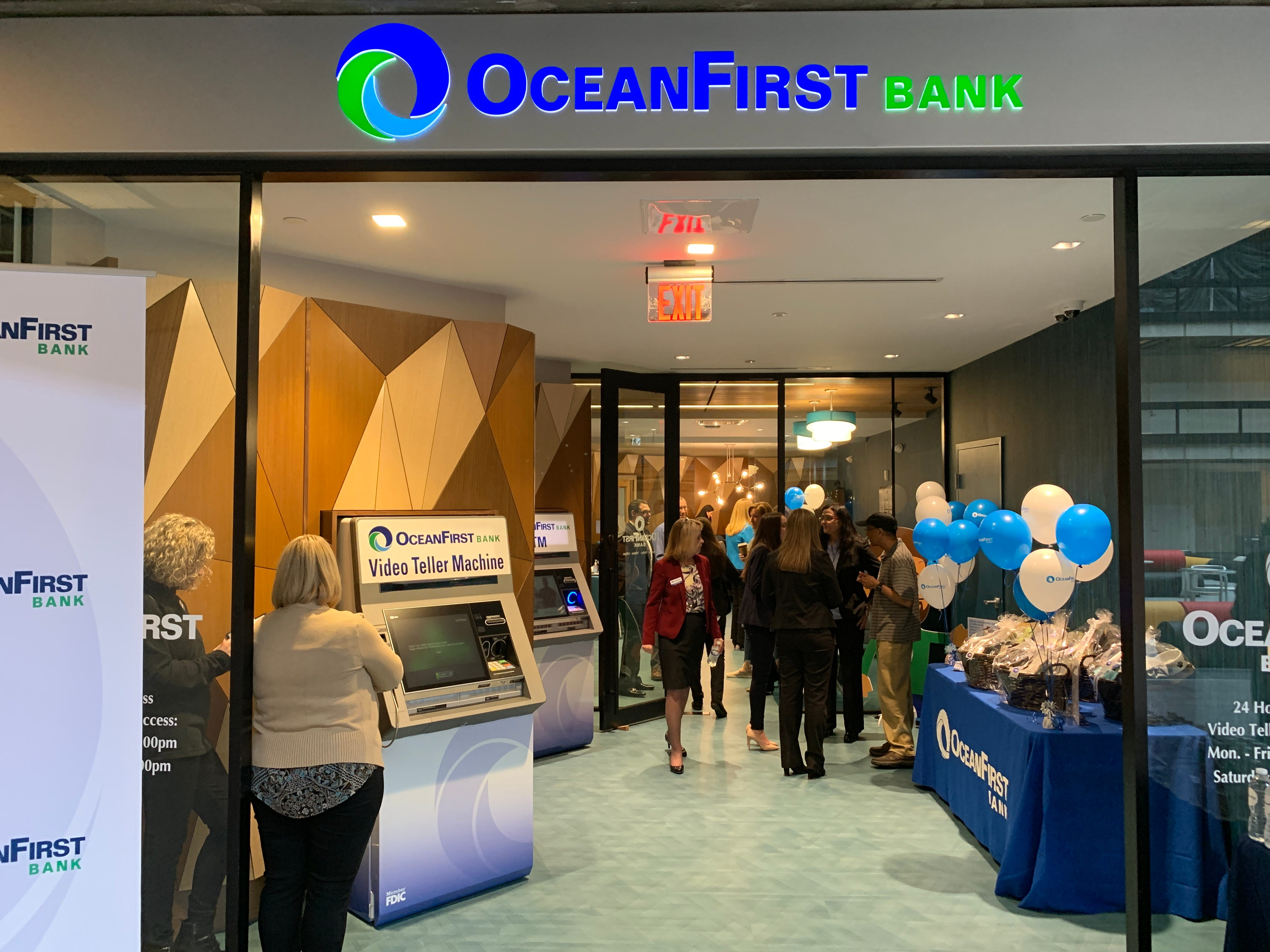 OceanFirst Bank has opened a new branch at Bell Works in Holmdel.