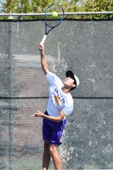Wylie's Anthony Zhang and boys doubles partner Courtney Holmes fought back to earn a region berth. Zhang reached last year's Region I-4A tournament in mixed doubles.