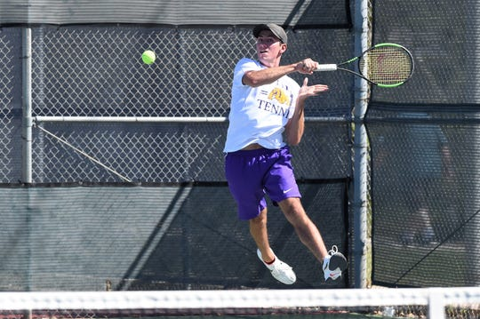 Wylie's Lane Adkins is trying to return to state for a third time in four years. Adkins went in mixed doubles as a freshman and in boys singles last year. Adkins and mixed doubles partner Analeah Elias are expected to be one of the top seeds at this week's Region I-5A tournament in Lubbock.