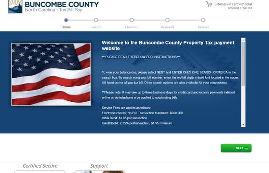 Buncombe County's Board of Commissioners will set the tax rate for the 2020 fiscal year in June.