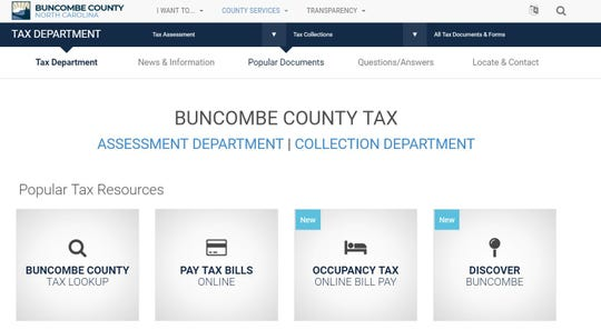Buncombe County's Board of Commissioners will set the county tax rate in June.
