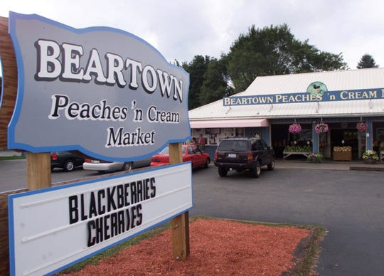 Beartown Peaches 'n Cream Market, pictured in 2004, is located at 5 Beartown Rd. in Painted Post.