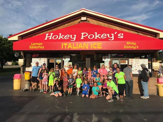 Hokey Pokey's Ice Creamery is located at 37 W. William St. in Corning.