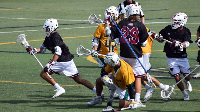 The Florida Tech men's lacrosse team lost in overtime against Saint Leo on Saturday, April 13, 2019.