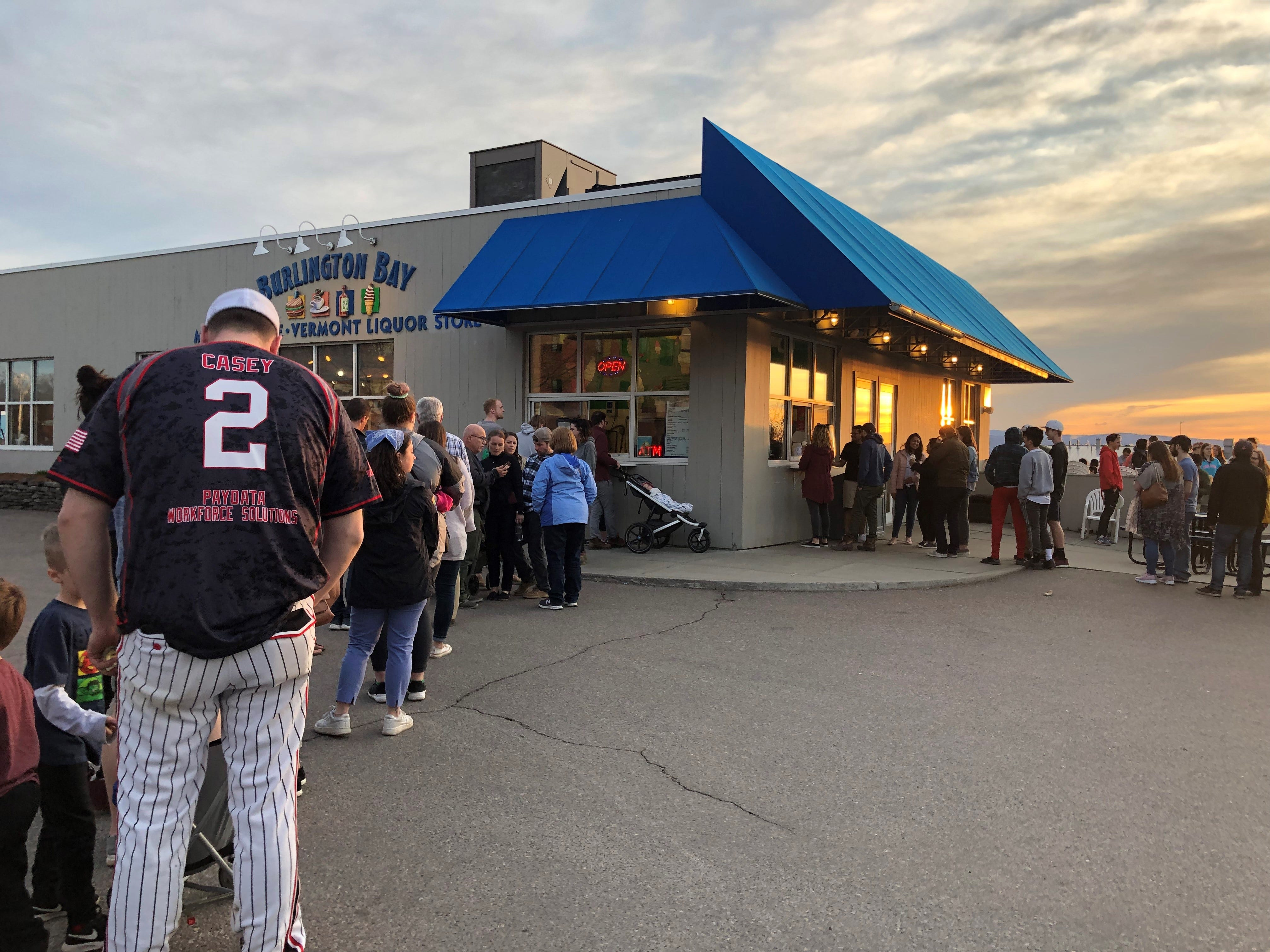 Everybody wants creemees at sunset on Saturday April 13, 2019.