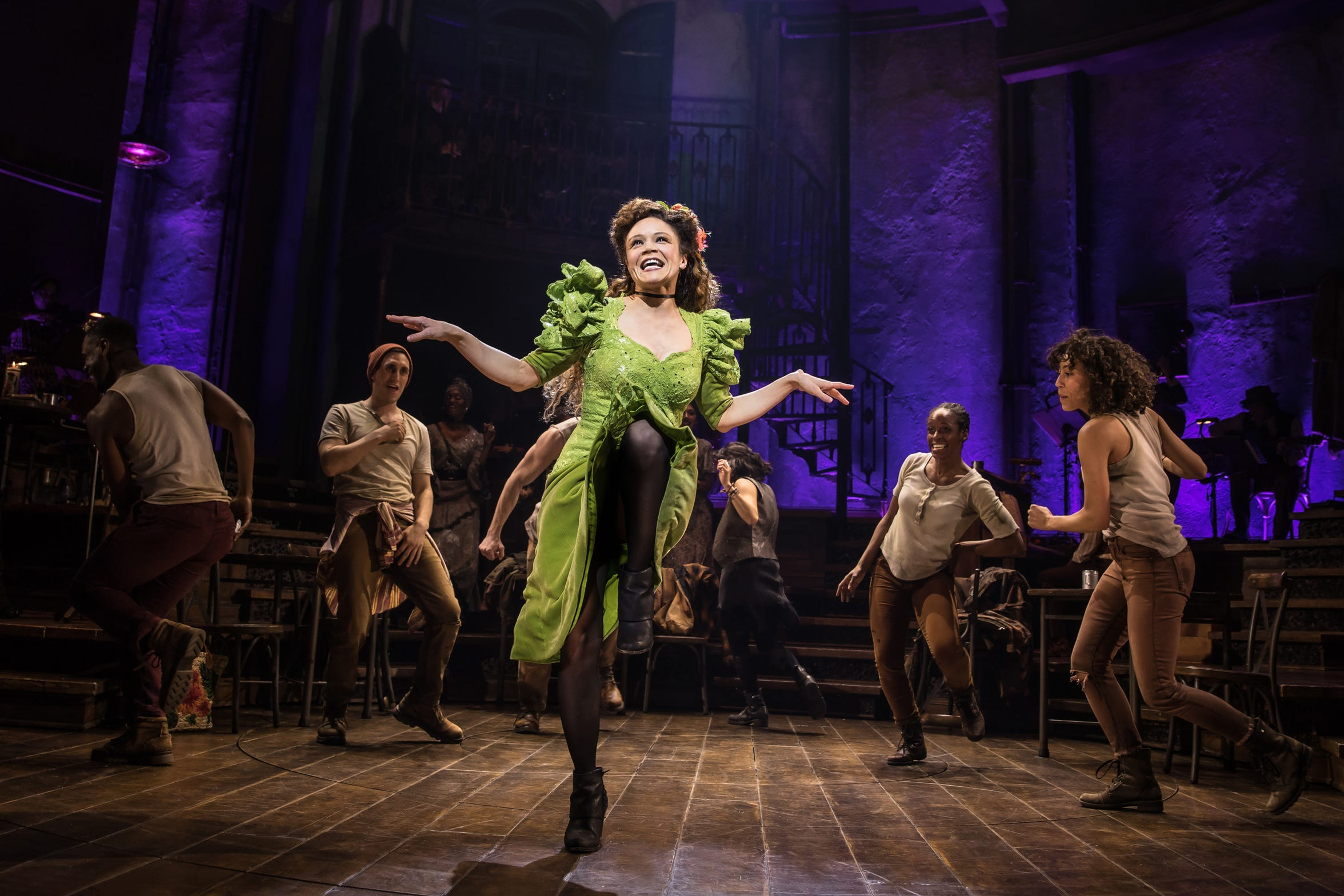 "Amber Gray is Persephone in the Broadway production of Anais Mitchell's musical ""Hadestown,"" which began in Vermont in 2006."