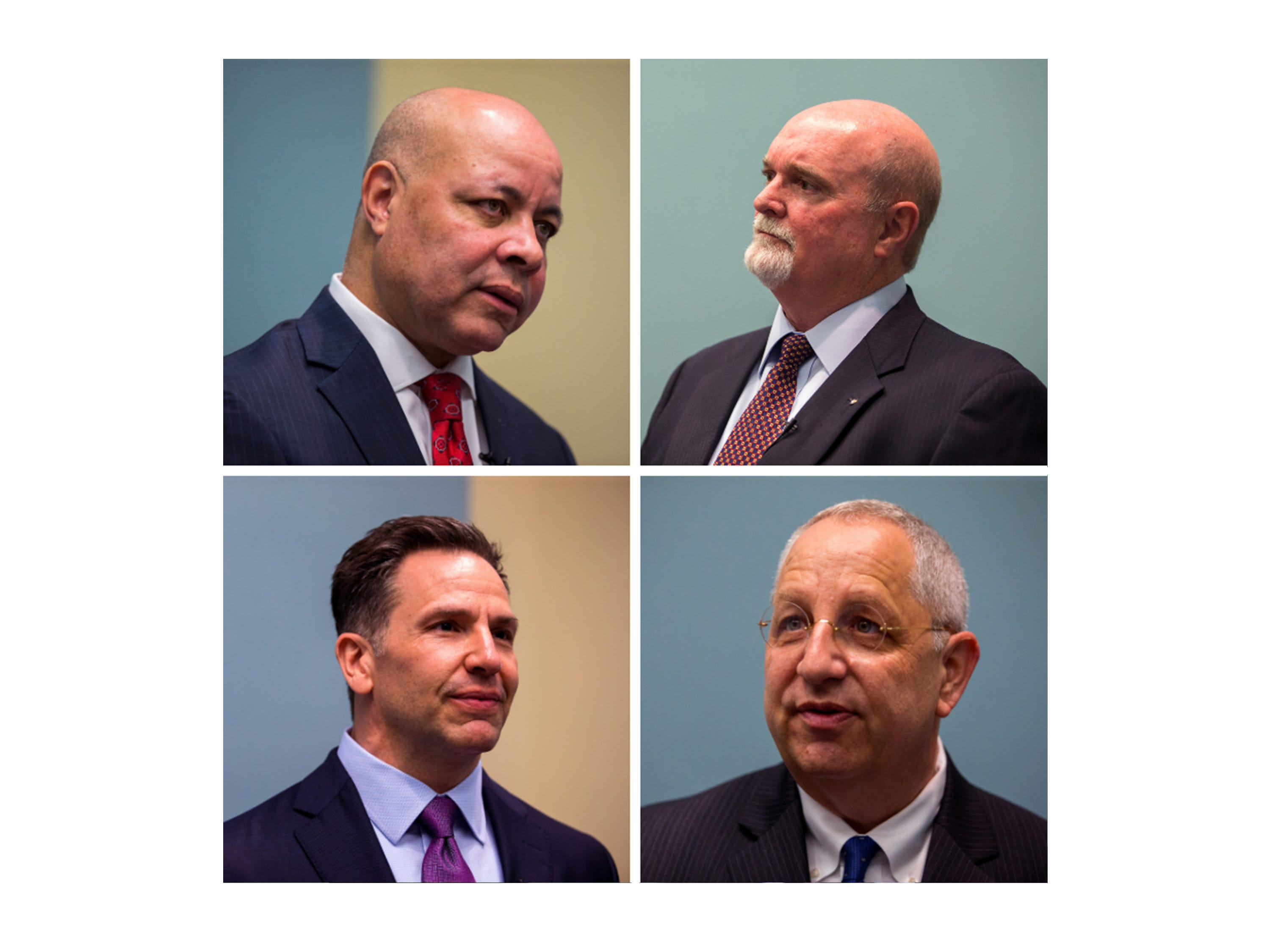 The finalists for the city manager position for the City of Corpus Christi.