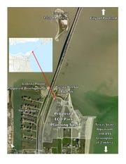 Draft map of the ecp park site on North Beach