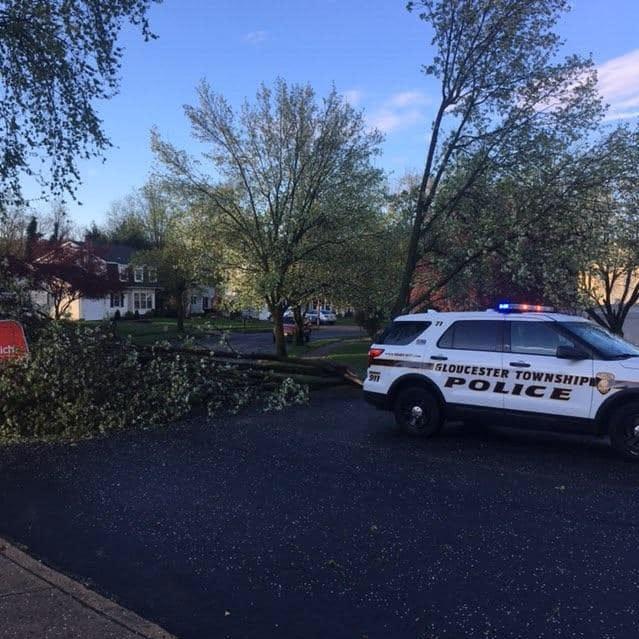 South Jersey awakened by violent overnight storm, tornado warning