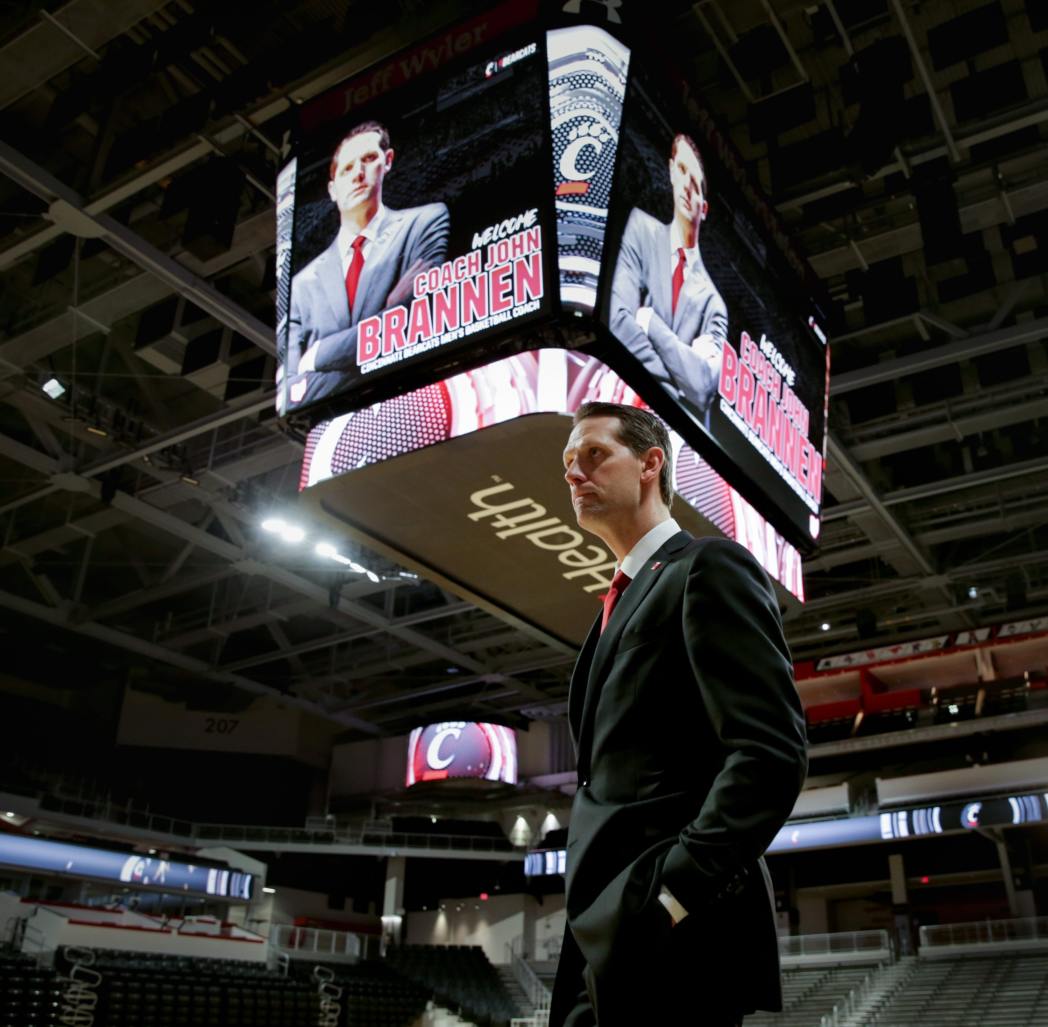 UC Bearcats coach John Brannen prioritizes players currently on the roster