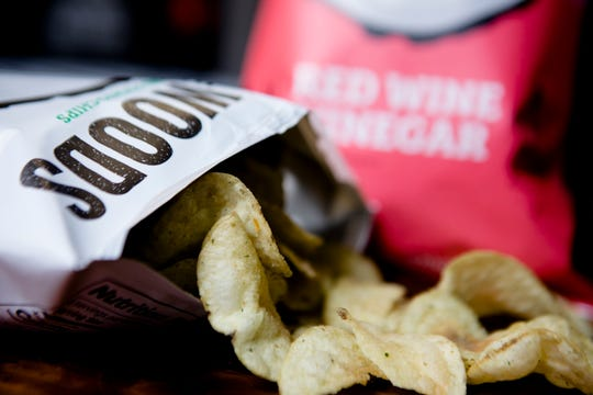 Hen of The Woods' Buttermilk and Chives chips are one of four flavors the Cincinnati based potato chip company sells.