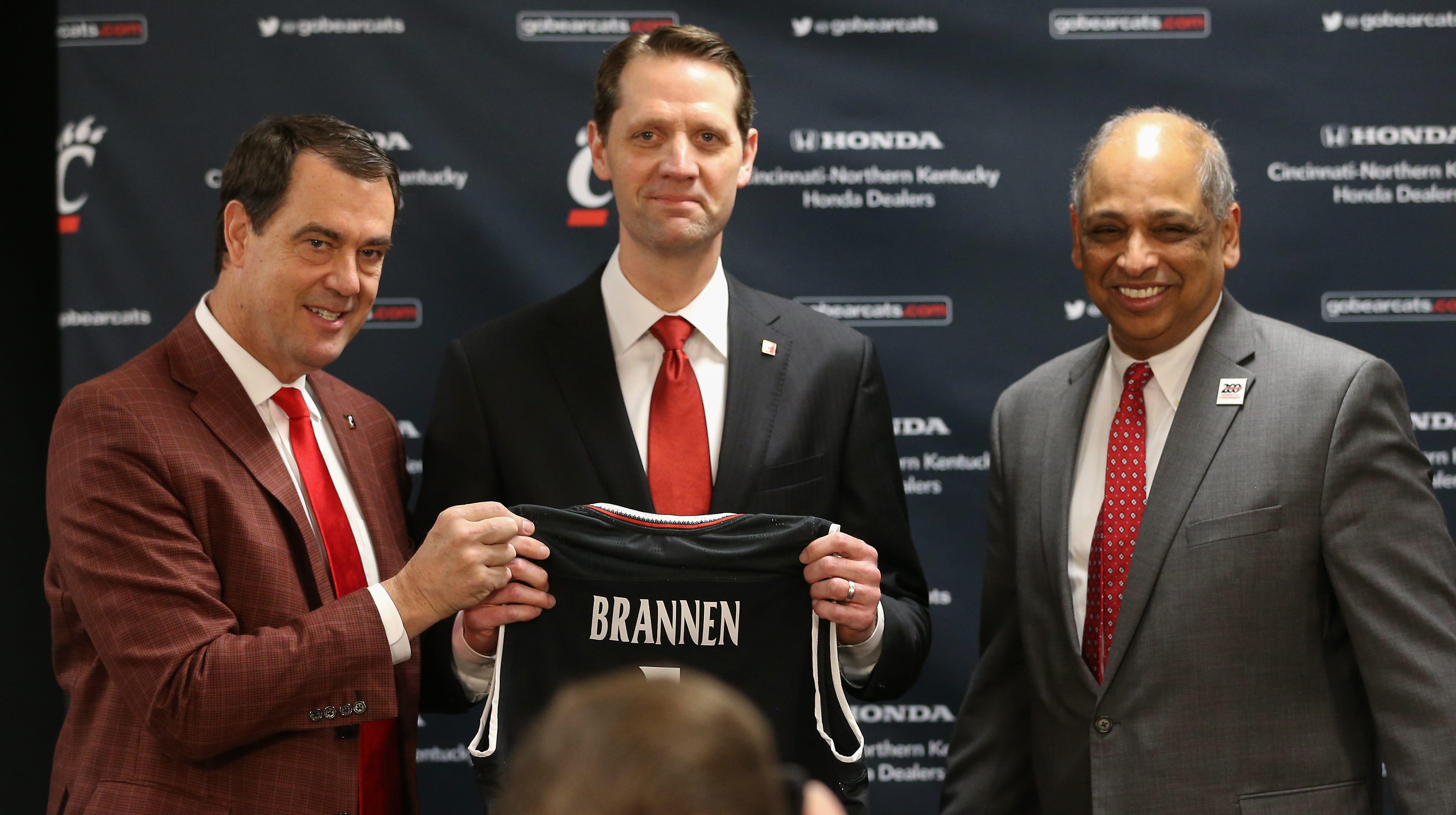 John Brannen introduced as University of Cincinnati men's basketball coach