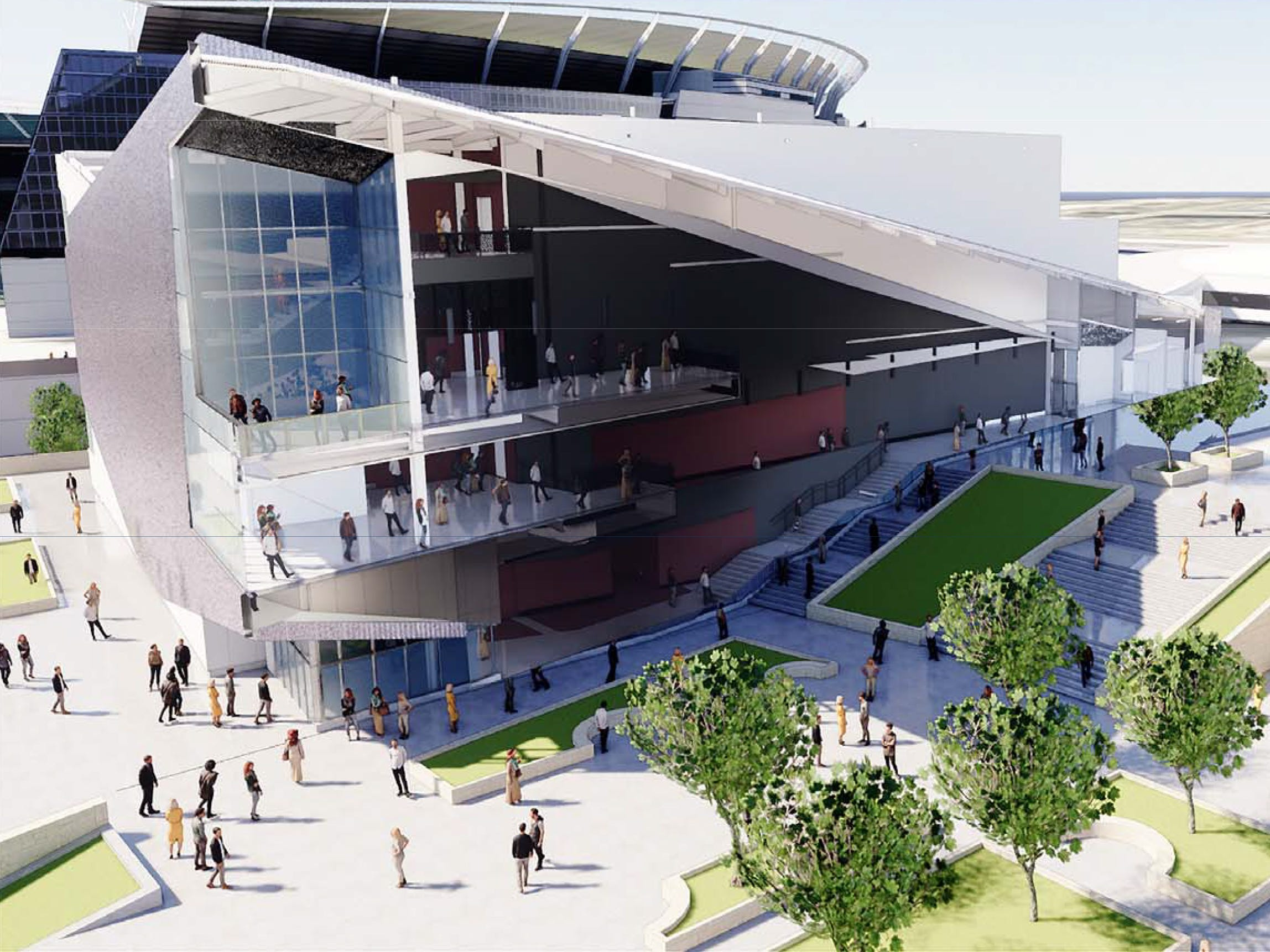 Hamilton County released in the past week the most up-to-date renderings of the music venue at The Banks. The Cincinnati Symphony Orchestra will build the venue on a lot adjacent to Paul Brown Stadium. Business owners at The Banks hope the venue will draw more people to the city's entertainment complex on the riverfront.