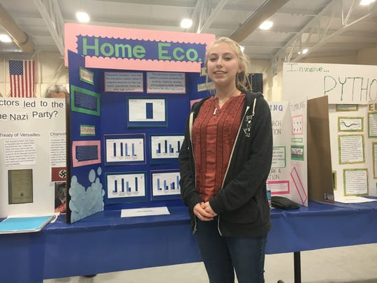 After noticing an empty home economics room at Clermont Northeastern High School, junior Sara Twine decided to research the almost long-forgotten subject.
