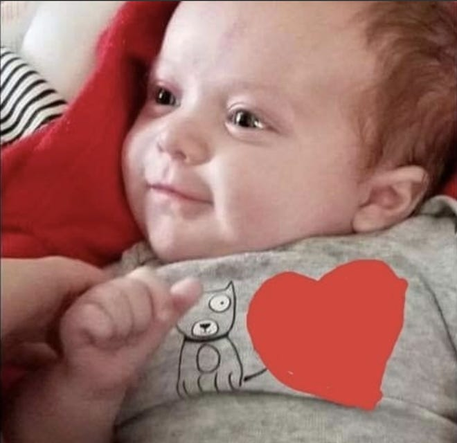 Police are investigating the Sunday death of 2-month-old Cayden Collwell
