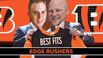 Cincinnati Bengals beat writers Fletcher Page and Paul Dehner Jr. offer their pick at edge rusher for the 2019 NFL Draft.