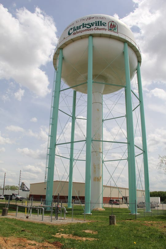 The out-of-service water tank on Alfred Thun Road is being dismantled this week, with work expected to be done by Thursday, April 18, 2019.