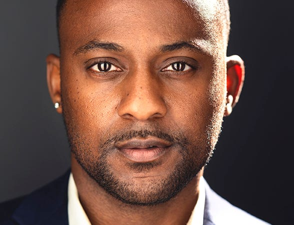 """Landon G. Woodson plays Tony Carter in Jiréh Breon Holder's award-winning civil rights drama """"Too Heavy for Your Pocket"""" running April 23 to May 19 at George Street Playhouse in New Brunswick."""