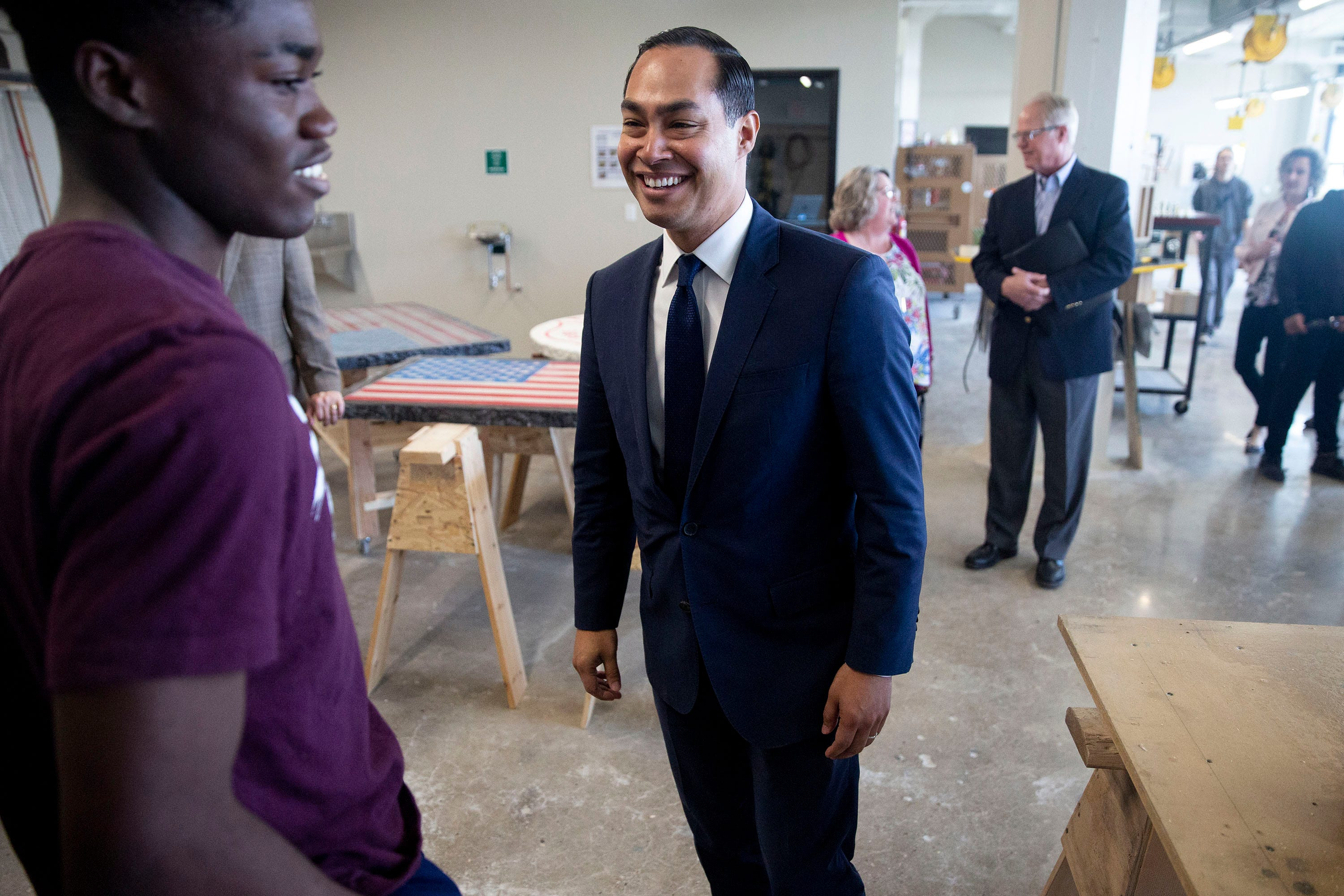 Julián Castro hopes to encourage first time caucus goers