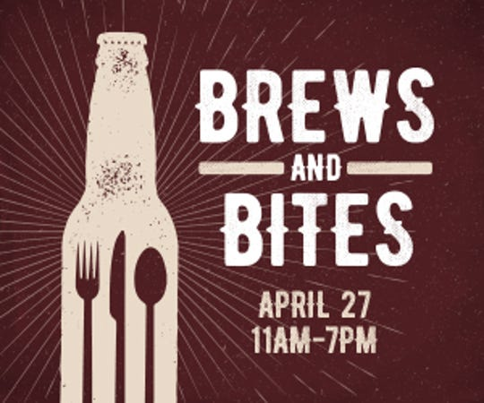 The Brews & Bites Food Truck Festival will take place on Saturday, April 27 from 11 a.m. to 7 p.m. at Outlets of Des Moines.