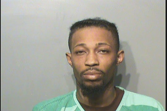Javell D. Williams, 28, shown in his Polk County Jail mugshot. He has been arrested and charged with first-degree murder and first-degree robbery.