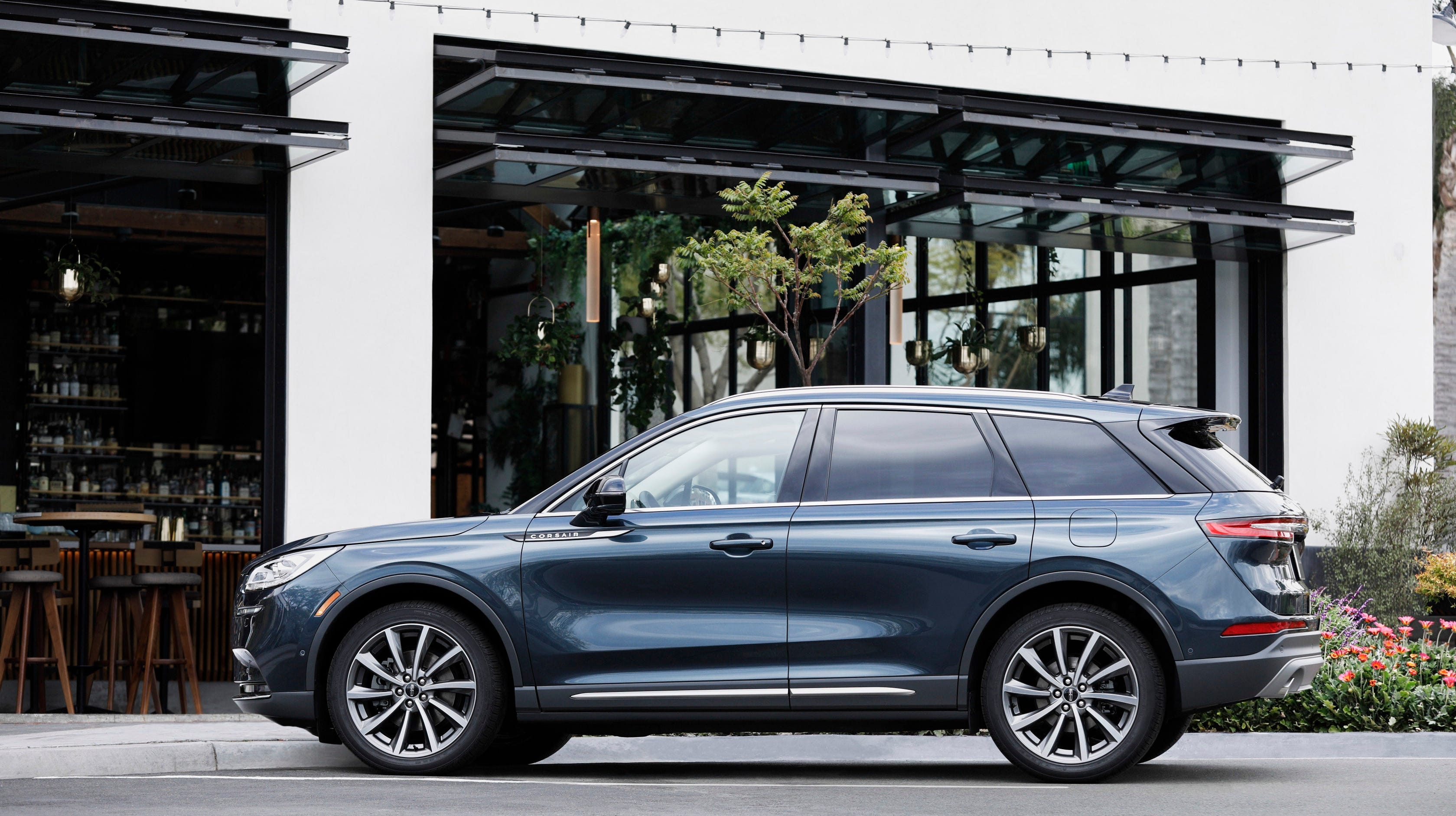 Debuting at the New York auto show, the 2020 Lincoln Corsair compact SUV is aimed at young and female buyers.