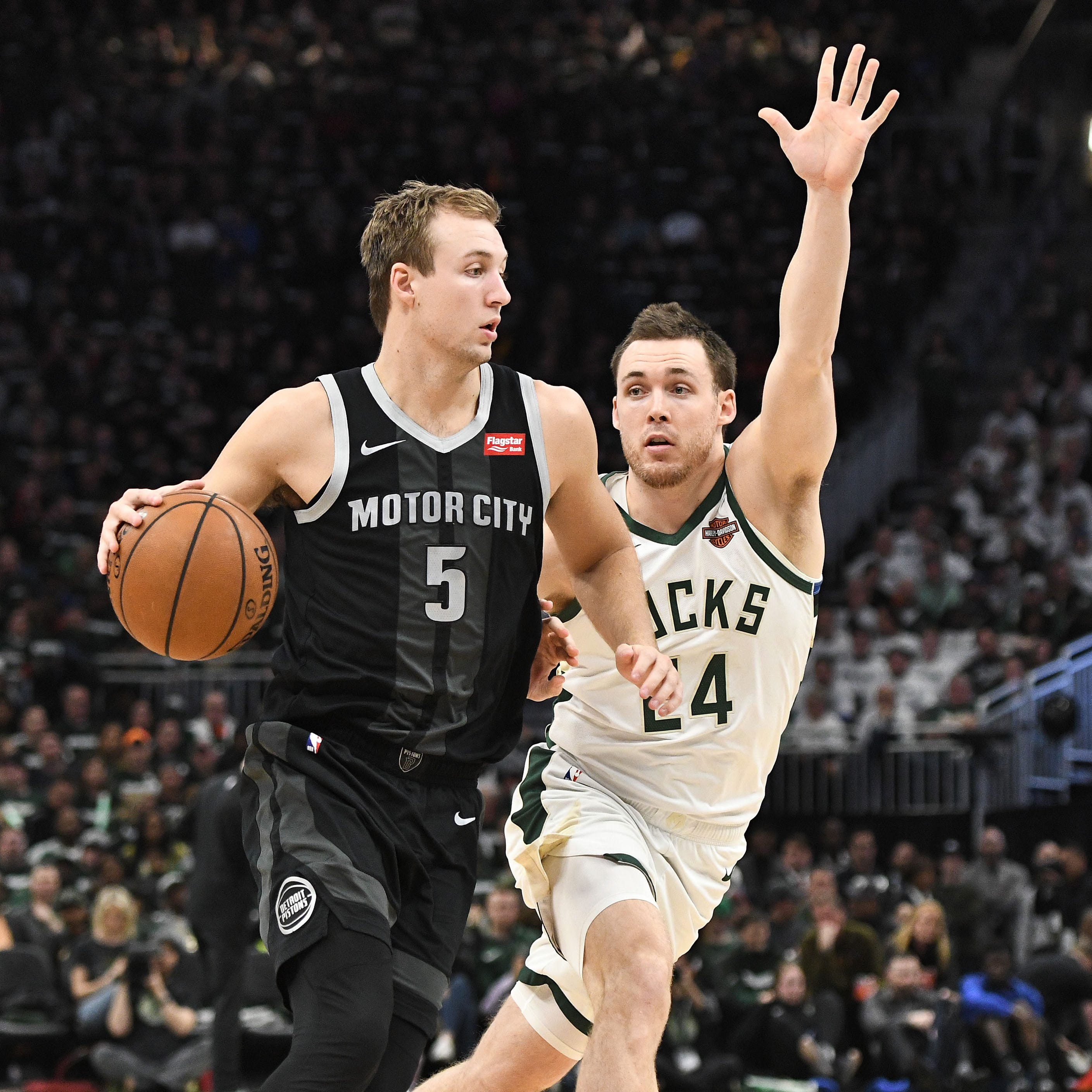 Detroit Pistons dominated by Bucks. But at least Luke Kennard didn't stink