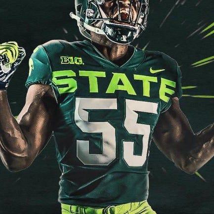Michigan State's alternate uniform concept was...