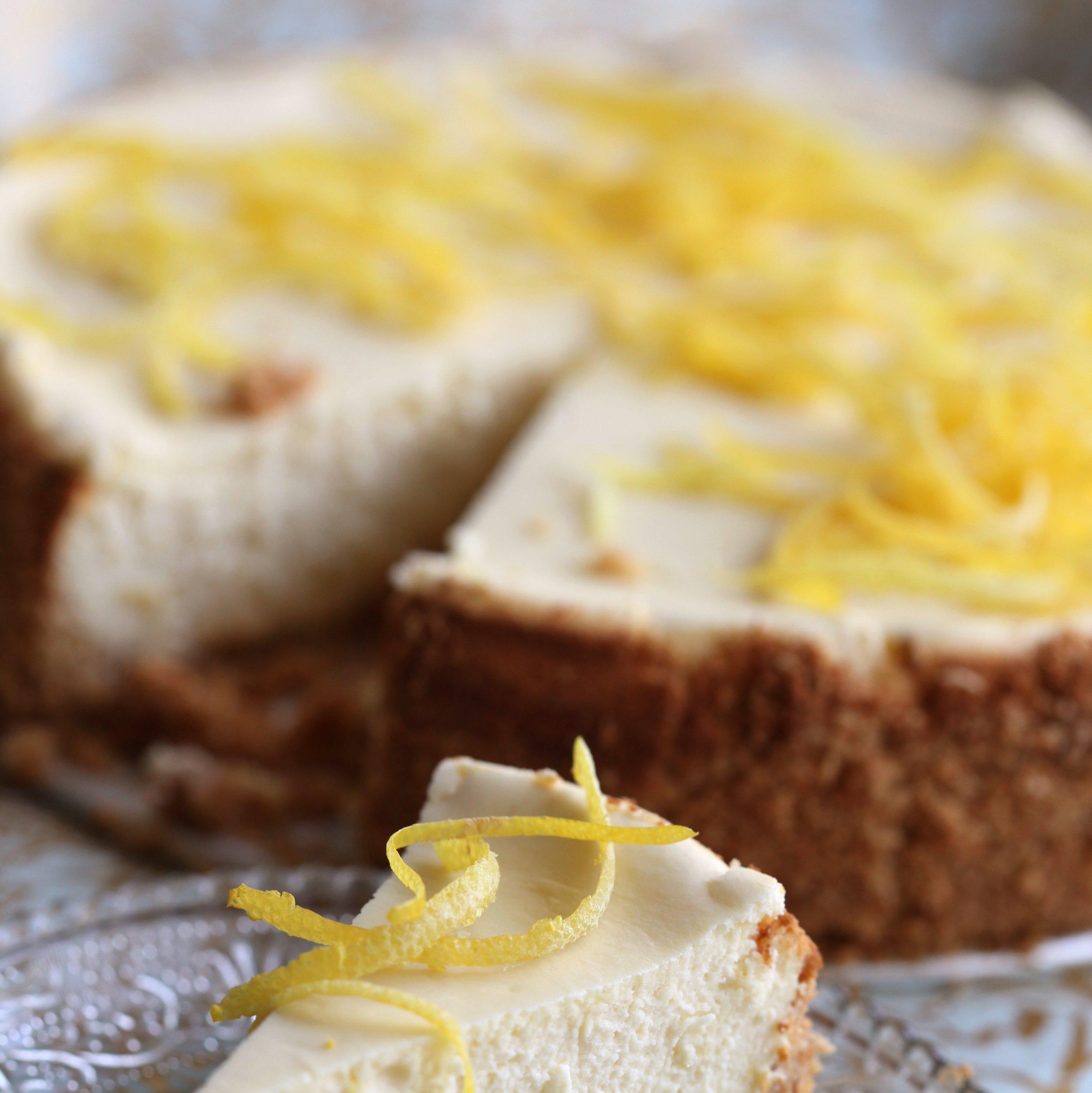 Recipe: Lemon cheesecake is perfect Passover dessert