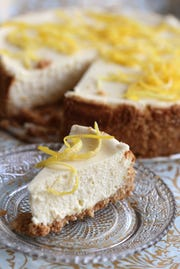 Passover Lemon Cheese Cake.