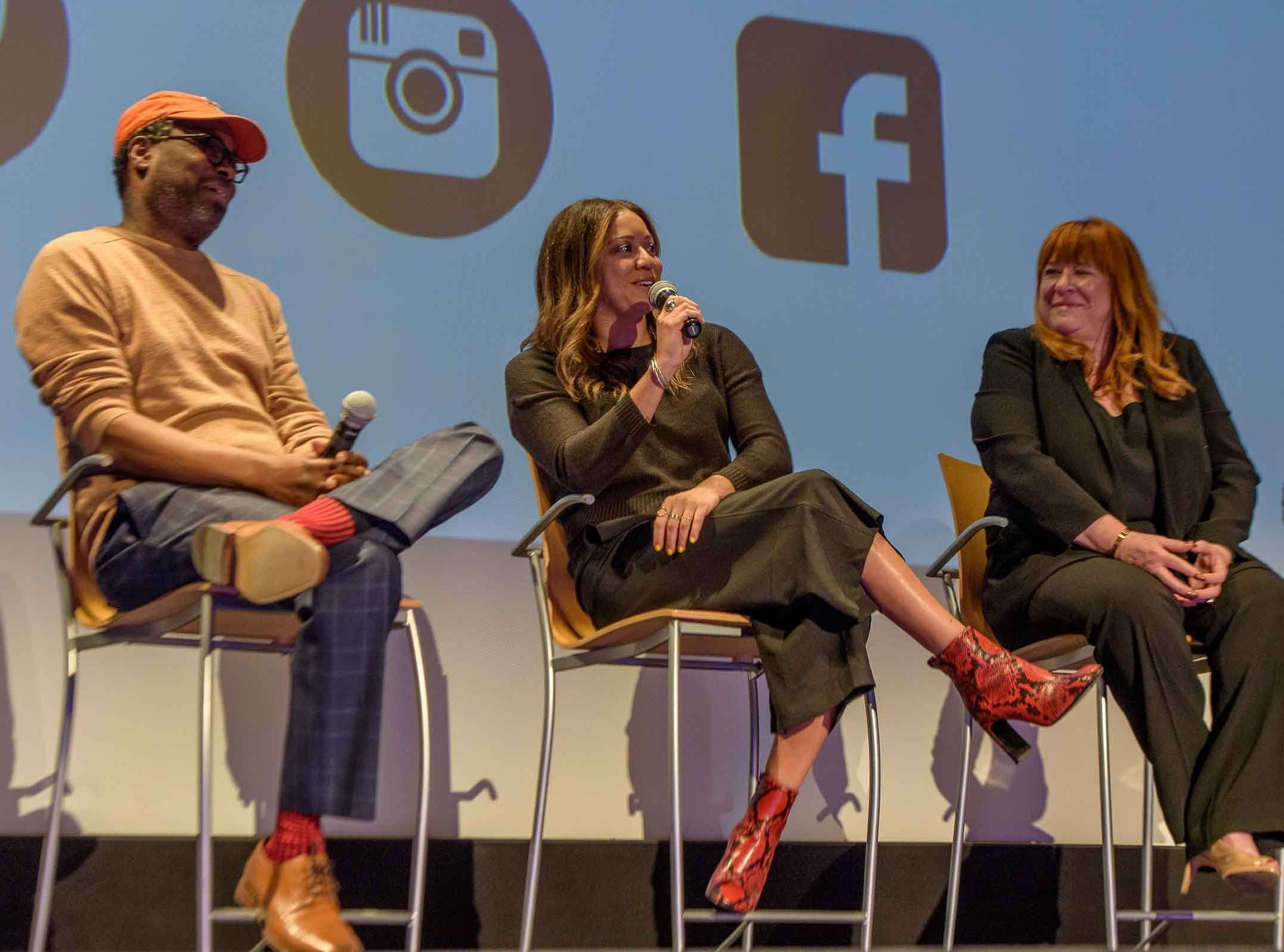 The Freep Film Festival presented the Film Dare to Struggle, Dare to Win at the Detroit Film Theatre at the DIA April 14, 2019. A panel discussion followed hosted by Stephan Henderson that included Director Christopher Gruse, executive producer Katy Cockrel, and former Detroit city counsel member Sheila Cockrel.