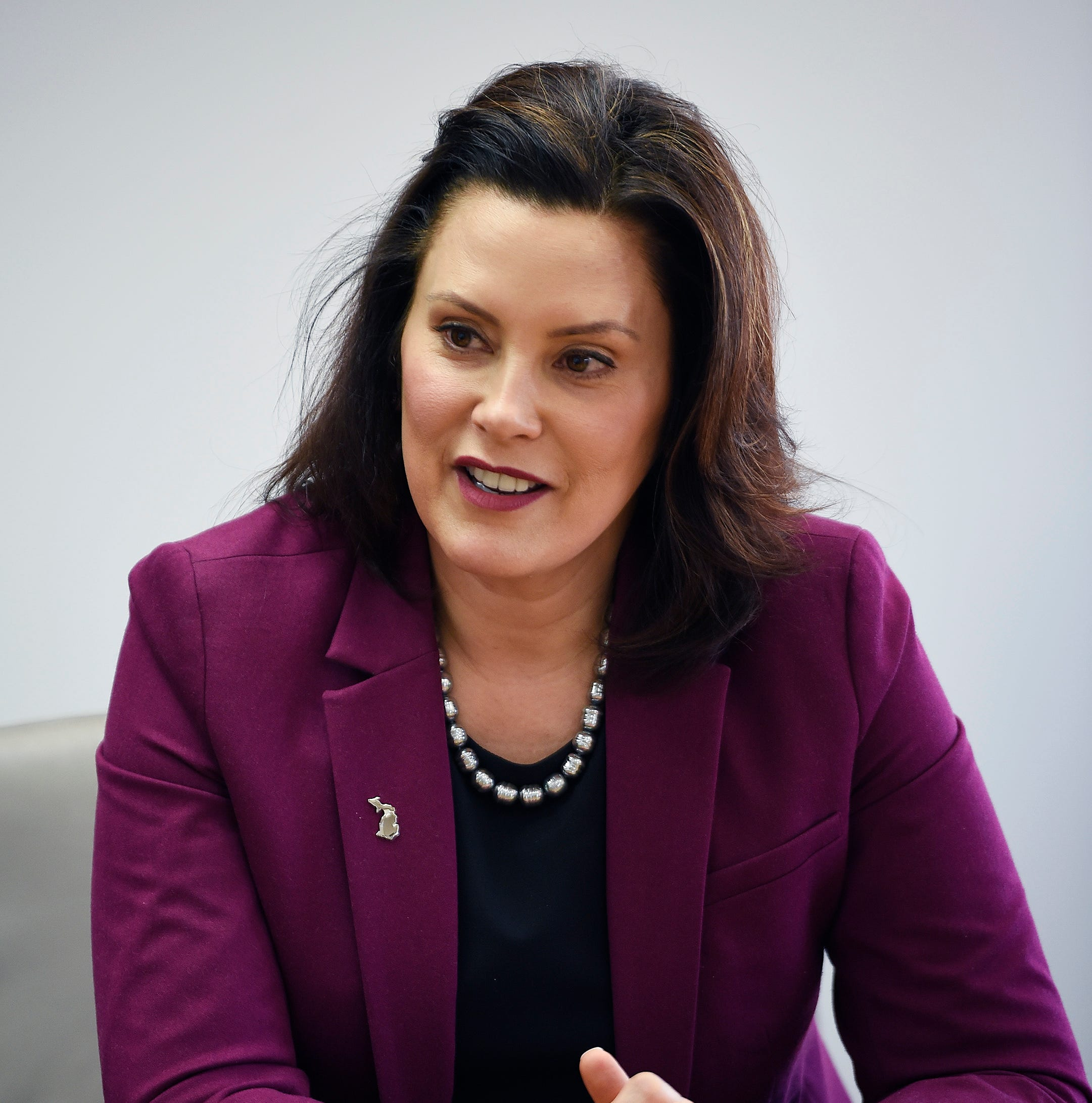 Whitmer: Road funding, auto insurance deal could be 'win-win'