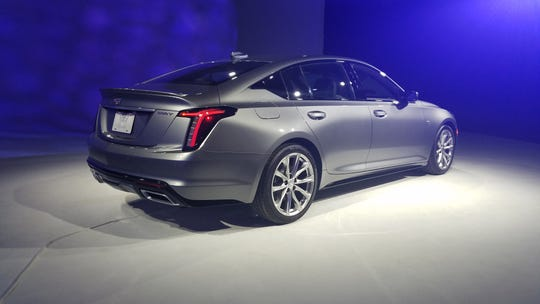 The 2020 Cadillac CT5 comes with two turbo engine options - a 2.0-liter 4 and 3.0-liter V6.