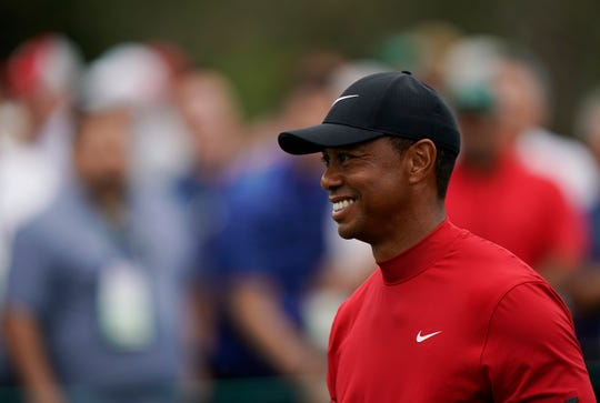 Tiger Woods won the Masters on Sunday for the first time since 2005.