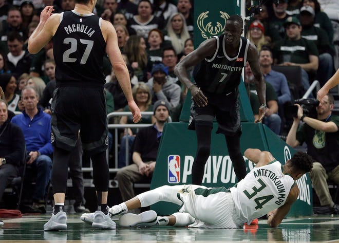Thon Maker finished with just four points and four rebounds in game 1 and his defense on Giannis Antetokounmpo was less-than-stellar.
