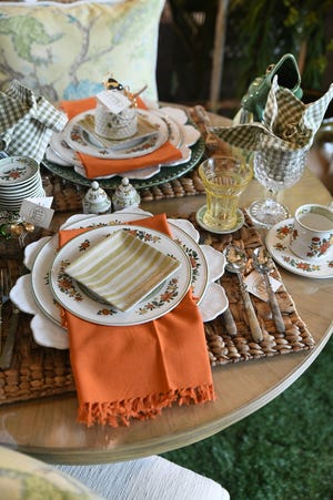 Don't be afraid to add fixtures such as individual honey pots or a fun pitcher to a table.
