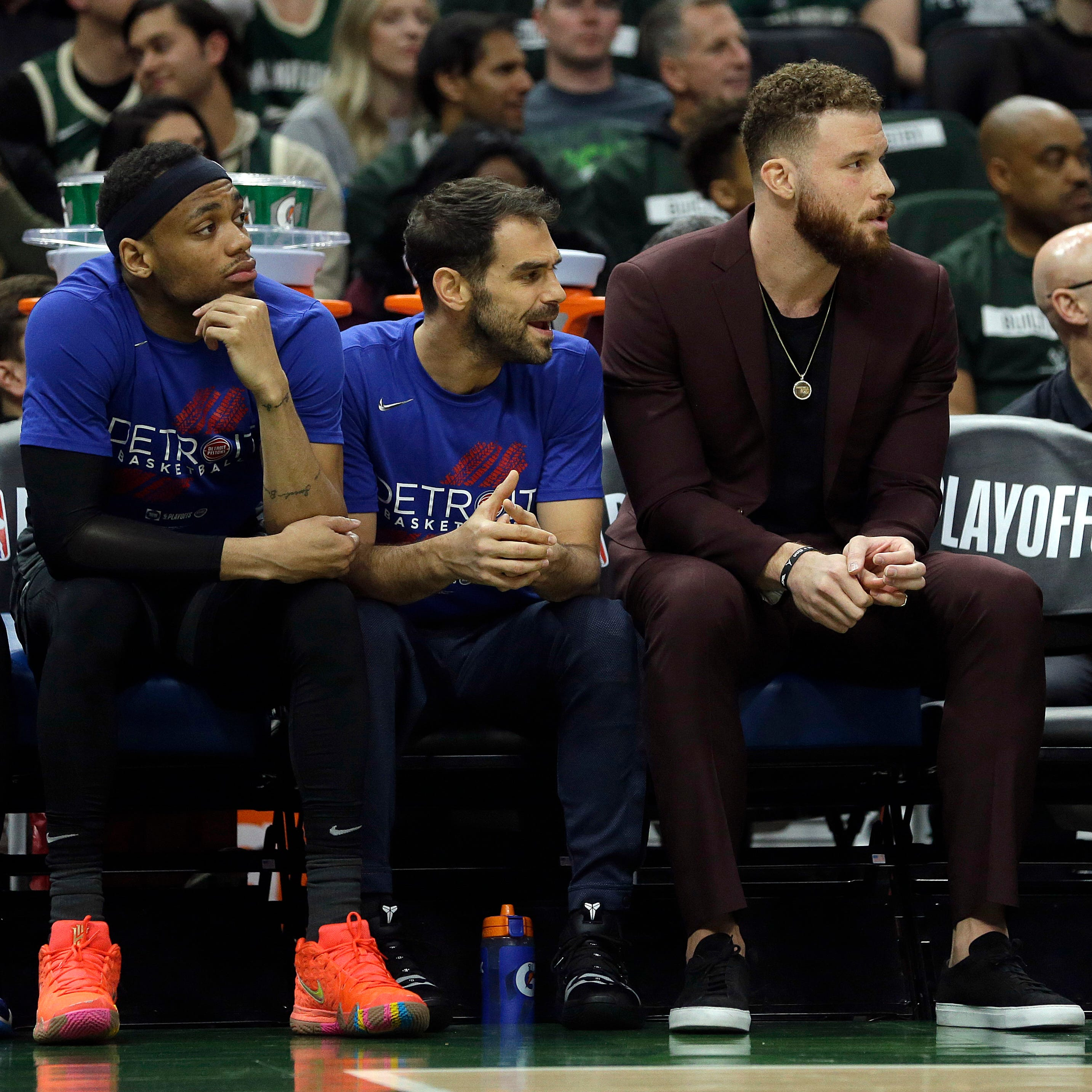 Pistons' Dwane Casey says Blake Griffin pushing to return: 'He wants to play'