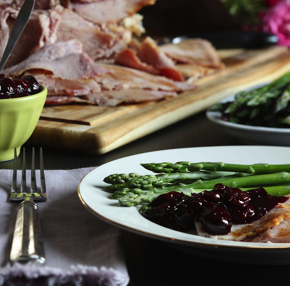 How to change up ham for Easter, plus a killer cheddar biscuit cobbler made from leftovers